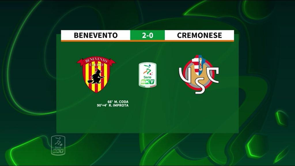 benevento-cremonese-2-0