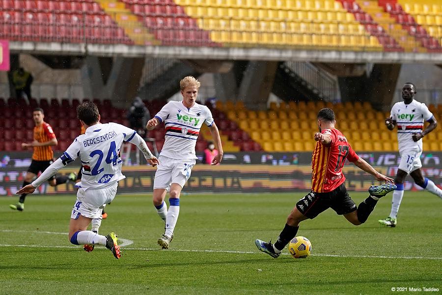 beneventosampdoria-1-1-il-tabellino-della-gara
