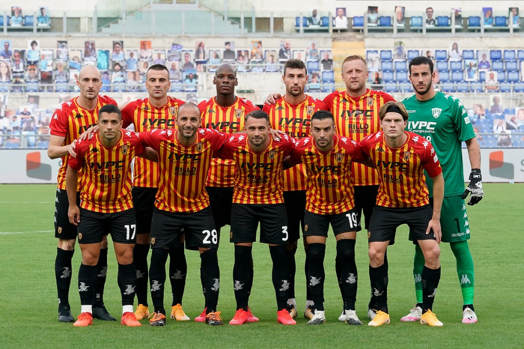Squadra del Benevento Calcio stagione 2020/21